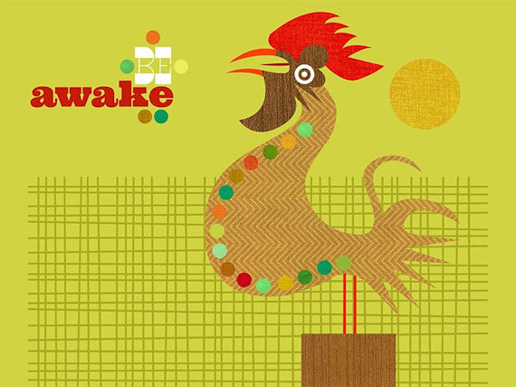 Be Awake Canvas Wall Art - Wall Sticker Outlet