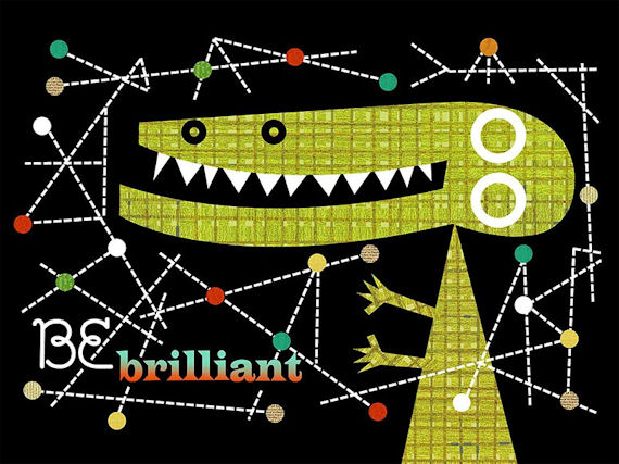 Be Brilliant Canvas Wall Art - Wall Sticker Outlet