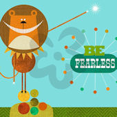 Be Fearless Canvas Wall Art