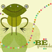 Be Grounded Canvas Wall Art