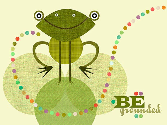 Be Grounded Canvas Wall Art - Wall Sticker Outlet