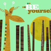 Be Yourself Canvas Wall Art