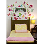 Butterfly Arbor  Peel and Place Stickers