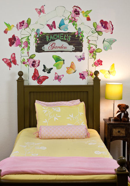 Butterfly Arbor  Peel and Place Stickers - Wall Sticker Outlet