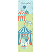 Circus Tents Canvas Growth Chart