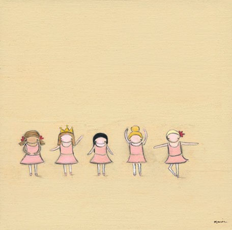 Tiny Dancers Canvas Wall Art - Wall Sticker Outlet