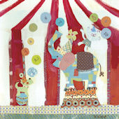 Big Top Circus Canvas Wall Art