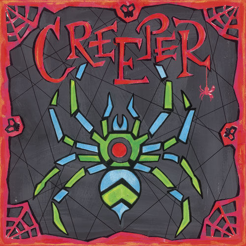 Creeper Canvas Wall Art - Wall Sticker Outlet