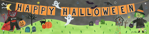 Halloween Banner - Kids Wall Decor Store