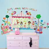 Lets Dance Peel and Place Wall Sticker Mural
