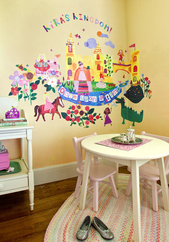 Once Upon a Time Peel and Place Wall Mural - Wall Sticker Outlet