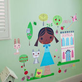 Paper Doll Annika Peel and Place Wall Mural