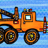 Tow-Rific Canvas Wall Art