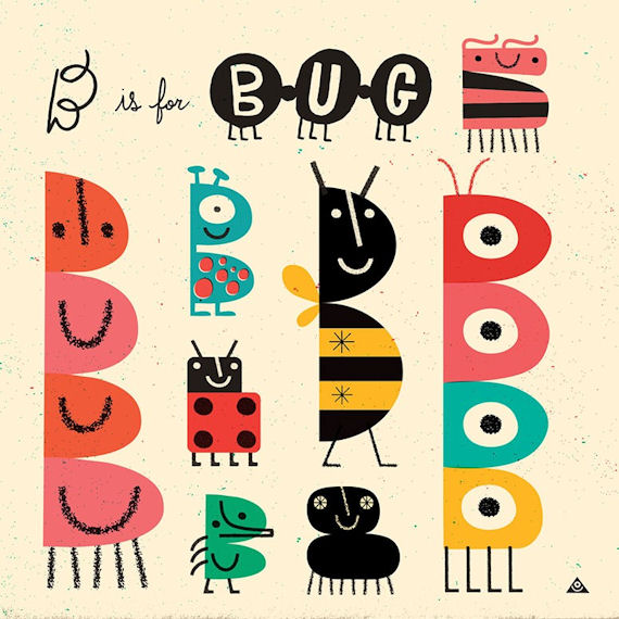 B Is For Bug Canvas Wall Art - Wall Sticker Outlet