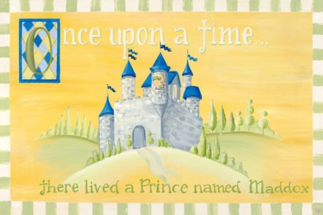 Fairy Tales Boys Personalized Canvas Wall Art - Wall Sticker Outlet