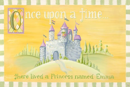 Fairy Tales Girls Personalized Canvas Wall Art - Wall Sticker Outlet