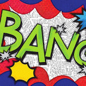 BANG Canvas Wall Art