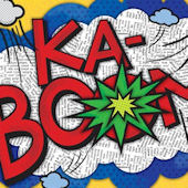KABOOM Canvas Wall Art
