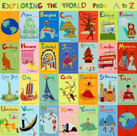 Exploring The World Canvas Wall Art - Wall Sticker Outlet