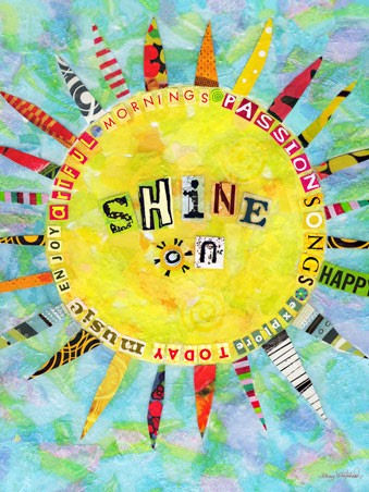 Shine On Canvas Wall Art - Wall Sticker Outlet