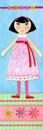 My Doll 5 Personalized Canvas Wall Art - Wall Sticker Outlet