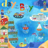 Day at the Bay Canvas Wall Art