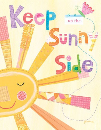 Keep On The Sunny Side Canvas Wall Art - Wall Sticker Outlet