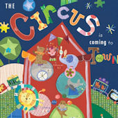 The Circus Is Coming To Town Canvas Wall Art