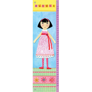 My Doll 5 Canvas Growth Chart - Kids Wall Decor Store