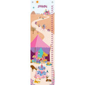 Its a Small World Morocan Girl Canvas Growth Chart