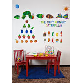 The Very Hungry Caterpillar  Peel and Place