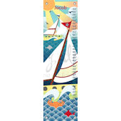 Vintage Voyage Canvas Growth Chart