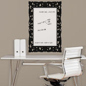 Ornate Frame Dry Erase Peel and Stick Decal