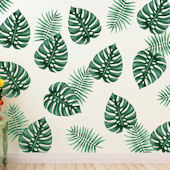 Urbanwalls Palm Branches Wall Decals