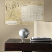 Paris Giant Dry Erase Peel and Stick Calendar
