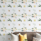 Urbanwalls Pastel Rose Garden Wallpaper