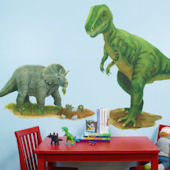 Prehistoric Pals Medium Peel and Place Mural