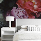 Urbanwalls Peonies Peel and Stick Wall Mural