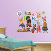 Fathead Peter Rabbit Peel and Stick Collection