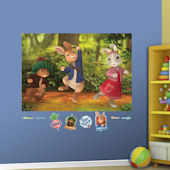 Fathead Peter Rabbit Peel and Stick Wall Mural