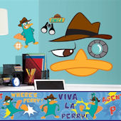 Phineas and Ferb Decal Room Package #3