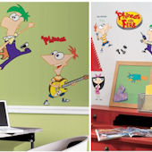 Phineas and Ferb Decal Room Package #1