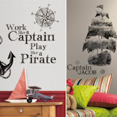Pirates Decal Room Package #1