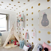 Urbanwalls Polka Dots Wall Decals