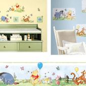 Winnie The Pooh Toddler Decal Room Package