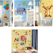 Winnie The Pooh Decal Room Package