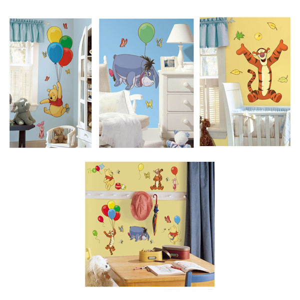 Winnie The Pooh Decal Room Package - Wall Sticker Outlet