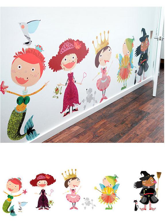 Design Diva Fabric Wall Decals - Wall Sticker Outlet