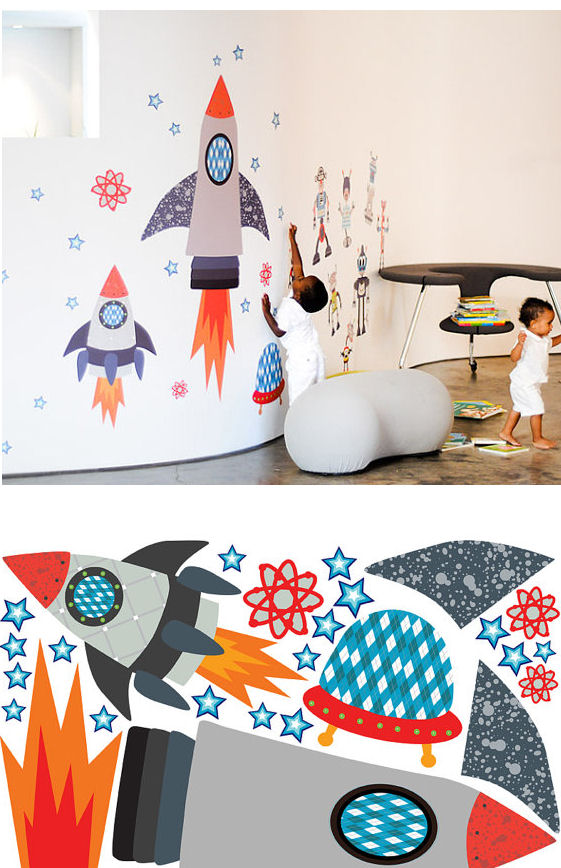 Starry Sky Fabric Wall Decals - Wall Sticker Outlet
