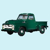 1955 Ford F-100 Pickup Peel and Stick Wall Mural